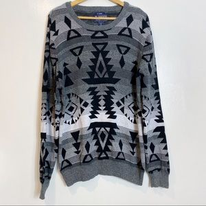 American Rag Southwestern Boho Style Sweater